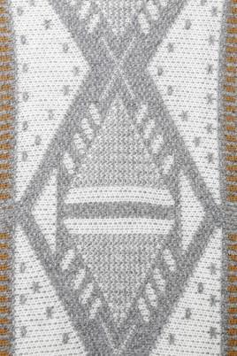 Cardigan Ada Gatti E280 grey - detalle tejido
